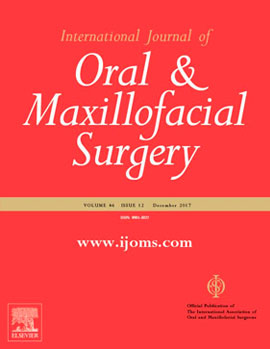 Media Appearances: INTERNATIONAL JOURNAL OF ORAL & MAXILLOFACIAL SURGERY